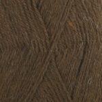 Mørkebrun uni 601