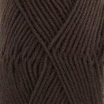 Mørkebrun uni 09