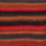 Rød/orange/grå print 13
